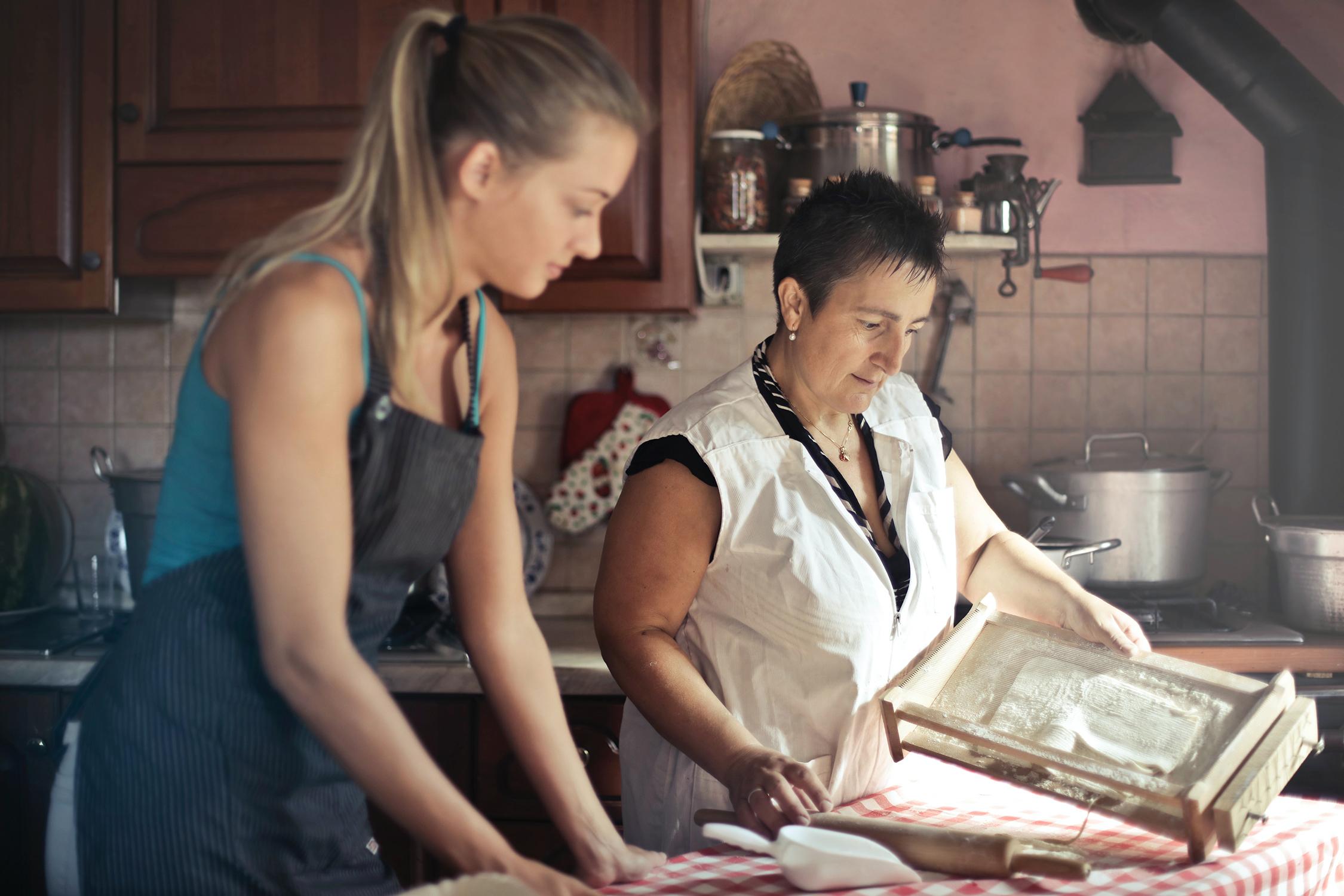 akik tanulni főzni)